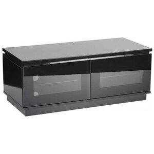 Photo of MMT D1120 High Gloss Black TV Cabinet TV Stands and Mount