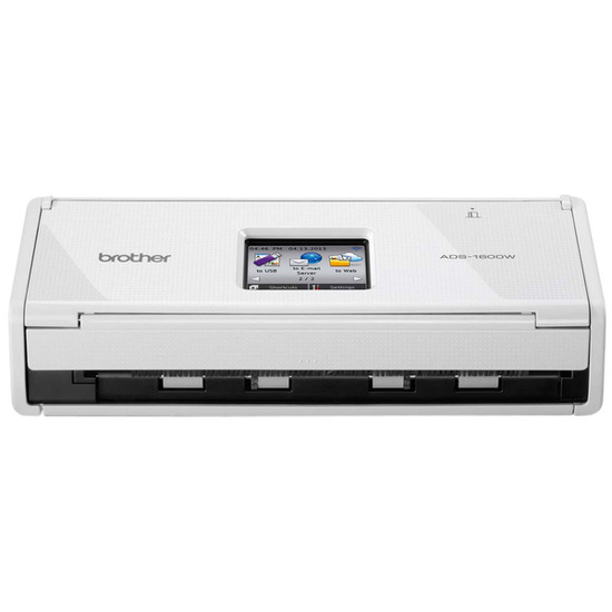 Brother ADS1600W Compact Wireless Document Scanner