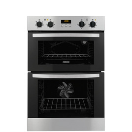 Zanussi ZOD35517XA Electric Double Oven - Stainless Steel Reviews