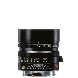 Leica SUMMILUX-M 50mm f/1.4 ASPH. Lens in Black