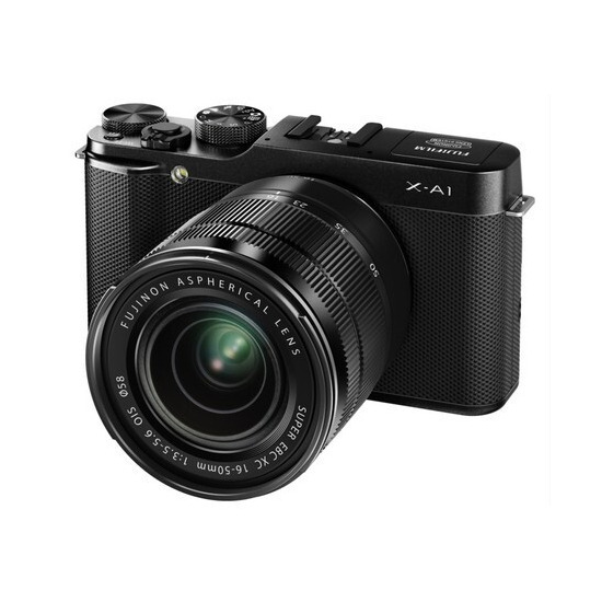 Fujifilm X-A1 Mirrorless Digital Camera with 16-50mm Lens Kit (Black)