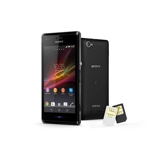 Sony Xperia M C2005 Dual SIM Free / Unlocked  (Black)