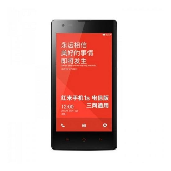 Xiaomi Redmi 1s 4.7-inch 8GB Dual SIM Free / Unlocked (Black)
