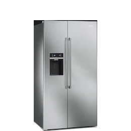 SMEG SBS63XED Stainless steel American Fridge freezer Reviews