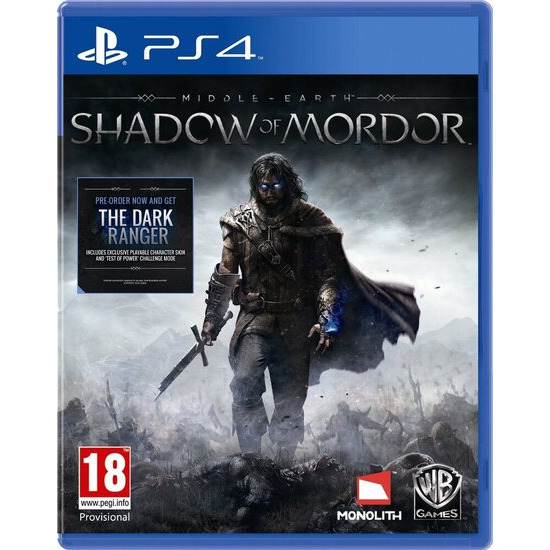 Middle-Earth - Shadow of Mordor (PS4)