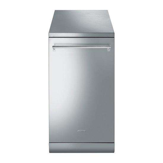 Smeg DF4SS-1 Slimline Dishwasher - Stainless Steel