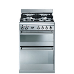Smeg Concert 60 Dual Fuel Cooker - Stainless Steel Reviews