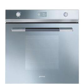 SMEG Linea SFP125S-1 Electric Oven - Silver Glass Reviews