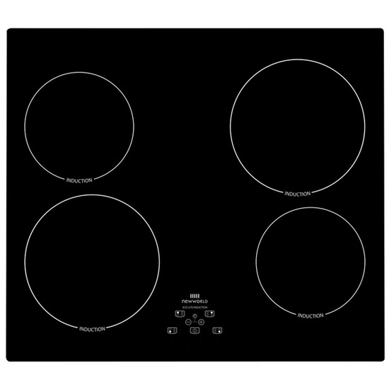 New World NW IHT614 Electric Induction Hob - Black