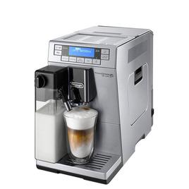 PrimaDonna XS Deluxe ETAM36.365 Bean to Cup Coffee Machine - Silver