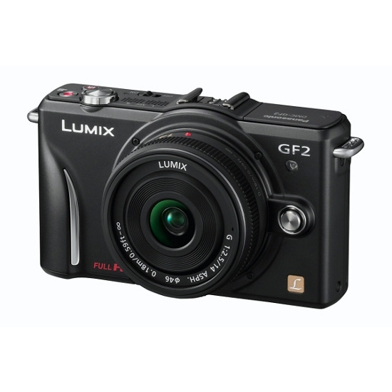 Panasonic Lumix DMC-GF2 with 14mm lens