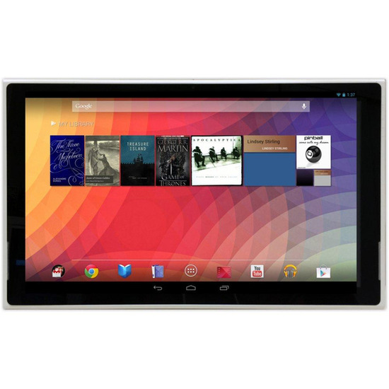 "Home INU151E 15.6"" Tablet - 8 GB, White"