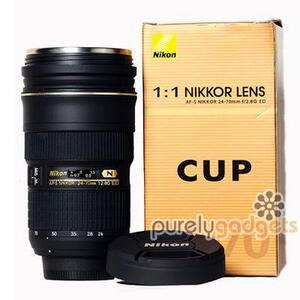 Photo of Nikon Lens AF-S 24-70MM F/2.8 ED - 1:1 Thermos Mug Cup Gadget