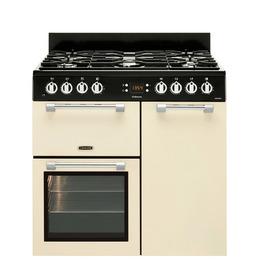 Leisure Cookmaster CK90F232C 90 cm Dual Fuel Range Cooker - Cream Reviews
