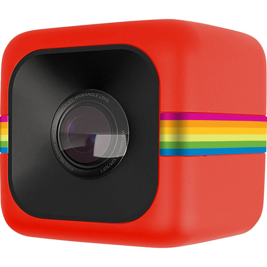 Polaroid POLC3R Cube Action Camcorder - Red