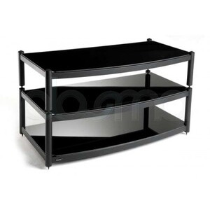 Photo of Atacama 3 Shelf TV Stand For Up To 60  In Black TV Stands and Mount