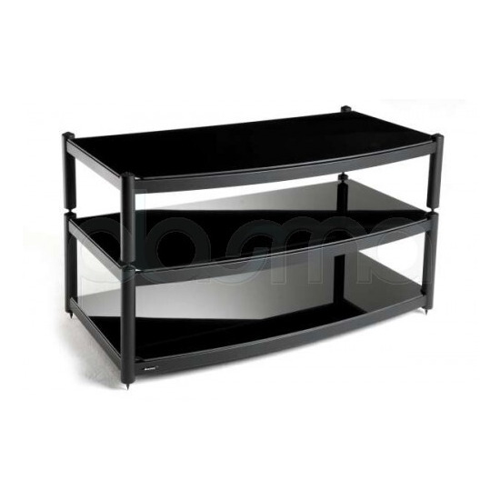 Atacama 3 Shelf TV Stand for up to 60  in Black