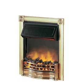 Dimplex Horton 2kW Electric Inset Fire HTN20BR in Brass Reviews