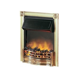Photo of Dimplex Horton 2KW Electric Inset Fire HTN20BR In Brass Electric Heating