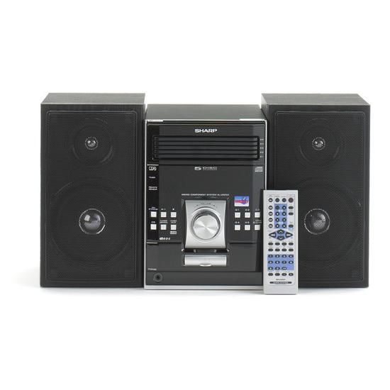 Sharp Micro System XLUR2110HBK