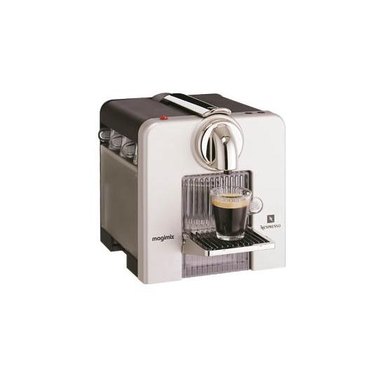Nespresso Magimix M220 Le Cube Alumiminium 11276 Reviews - Compare Prices and Deals - Reevoo
