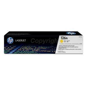 Photo of HP CE312A 126A Yellow Original LaserJet Toner Cartridge Printer Accessory