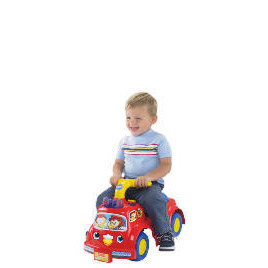 Fisher Price Lilfire Truck Ride-On Reviews