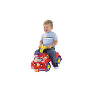 Photo of Fisher Price Lilfire Truck Ride-On Toy