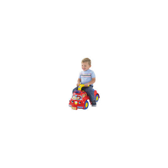 Fisher Price Lilfire Truck Ride-On
