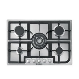 Hoover HGH75SQCX Gas Hob - Stainless steel Reviews