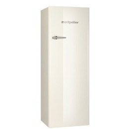 Montpellier MAB340C Retro Tall Freestanding Fridge With Icebox Cream Reviews