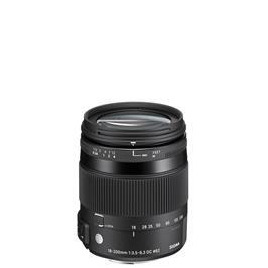 Sigma 18-200mm f/3.5-6.3 DC Macro OS HSM Contemporary Lens - Canon Fit
