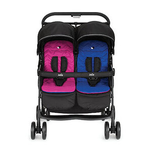 Photo of Joie Aire Twin Stroller – Pink/Blue Baby Product