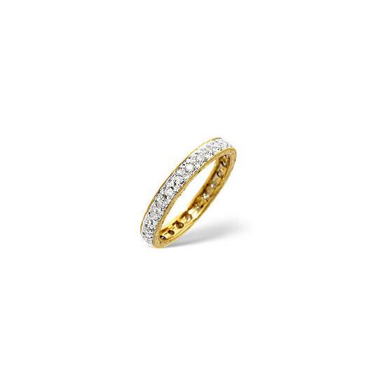 Eternity Ring 0.33CT Diamond 9K Yellow Gold