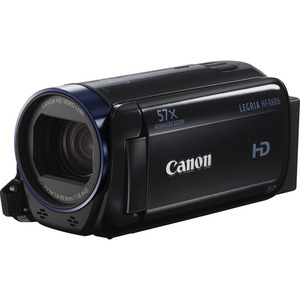 Photo of Canon Legria HF R606 Black Camcorder