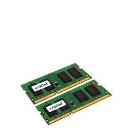Crucial 16GB Kit (2 x 8GB) DDR3L-1600 SODIMM
