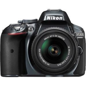 Photo of Nikon D5300 Digital SLR Camera With 18-55MM VR II Lens Kit (Red) Digital Camera