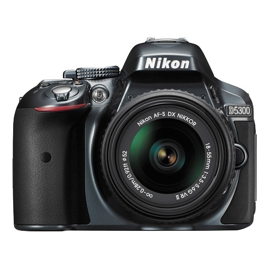 Nikon D5300 Digital SLR Camera with 18-55mm VR Lens