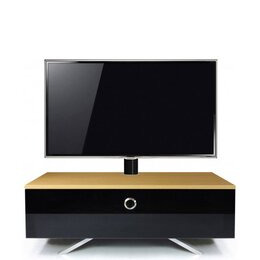 MDA Designs Cubic Hybrid Complete Oak and Black Cantilever TV Stand Reviews