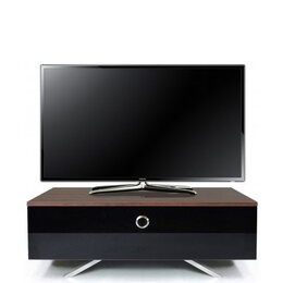 MDA Designs Cubic Hybrid Walnut and Black TV Stand Reviews
