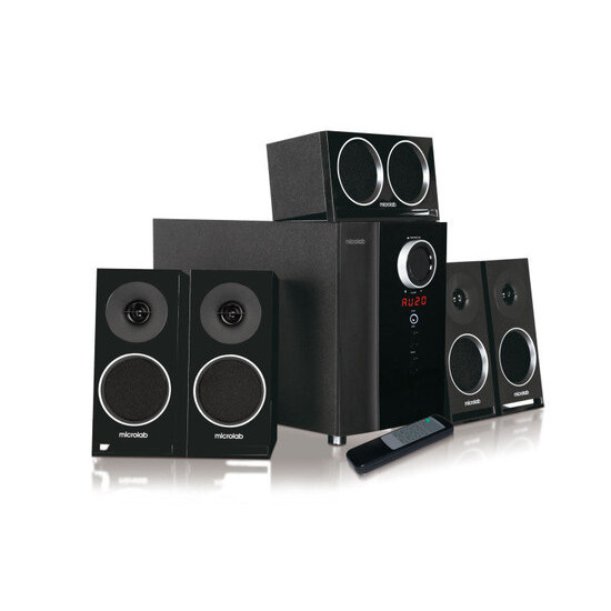 Microlabs M1910 64W RMS 5.1 Speaker System