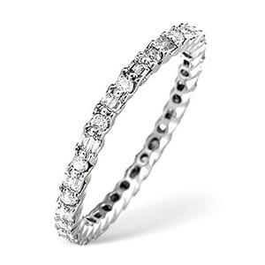Photo of Eternity Ring 0.49CT Diamond Platinum Jewellery Woman
