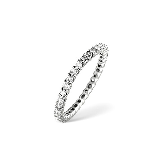 Eternity Ring 0.49CT Diamond Platinum