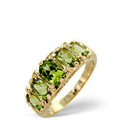 The Diamond Store Peridot Ring 9K Yellow Gold Reviews