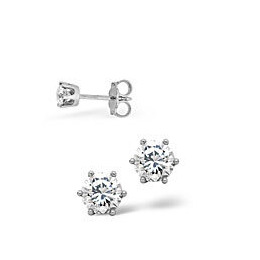 Mens Earrings 0.10CT Single Earring Diamond 18KW Reviews