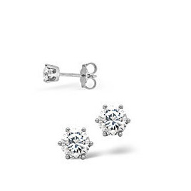 Mens Earrings 0.10CT Single Earring Diamond 18KW Reviews
