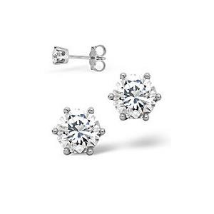 Photo of Mens Earrings 0.5CT Single Stone Diamond 18KW Jewellery Men