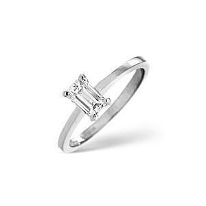Photo of The Diamond Store g Vs Engagement Ring 0 25CT Diamond 18K White Gold Jewellery Woman