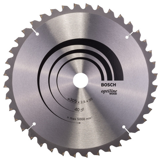 Bosch 2608640440 Circular Saw Blade For Mitre Cuts 305mm, 40 Teeth