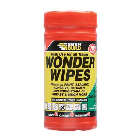 Everbuild Wonder Wipes Trade Tub 100 Wipes